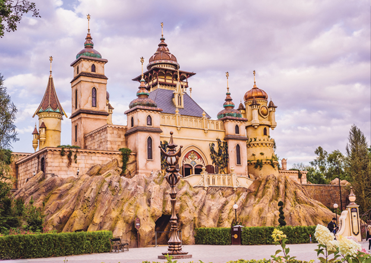 Exterior of Symbolica at Efteling theme park