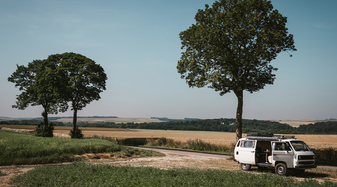 Normandy is a tranquil dream for those with a campervan