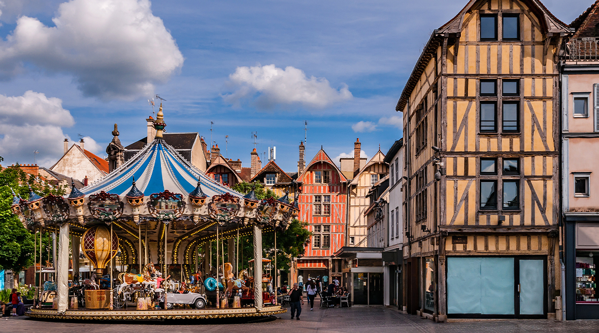 Surprise your significant other with a stroll through Troyes