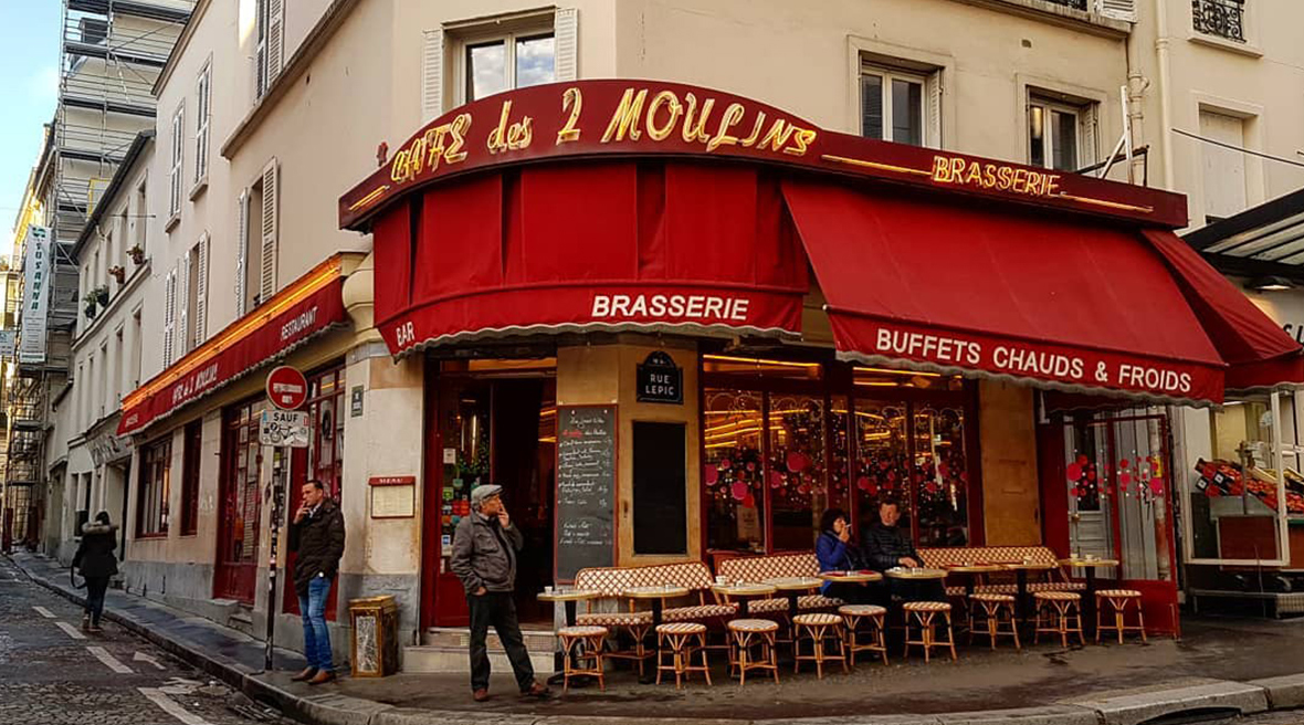 Pull up a chair at the Café des Deux Moulins