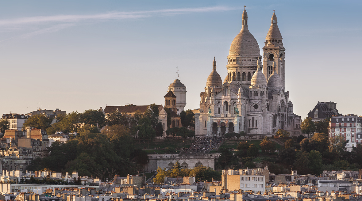The Sacré-Cœur is always worth a visit