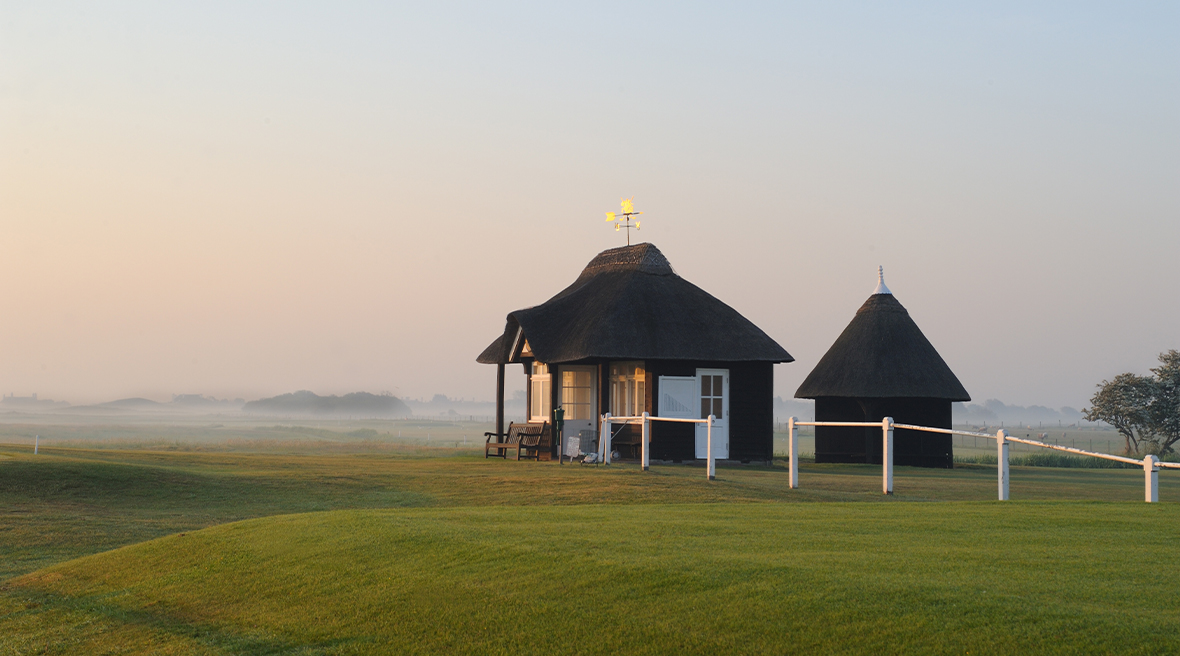 Le club de golf du « Royal St George's » à Sandwich