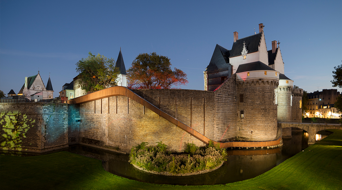 The Chateau des Ducs de Bretagne in Nantes
