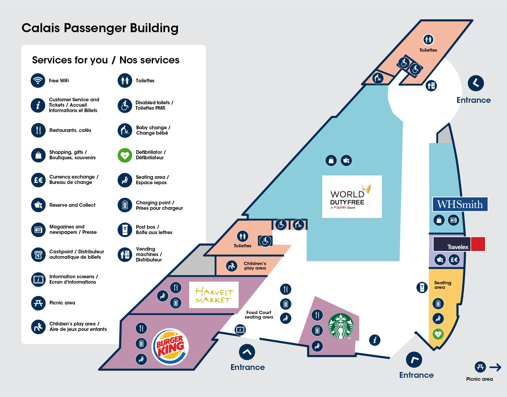Eurotunnel Le Shuttle Terminals: Folkestone & Calais on